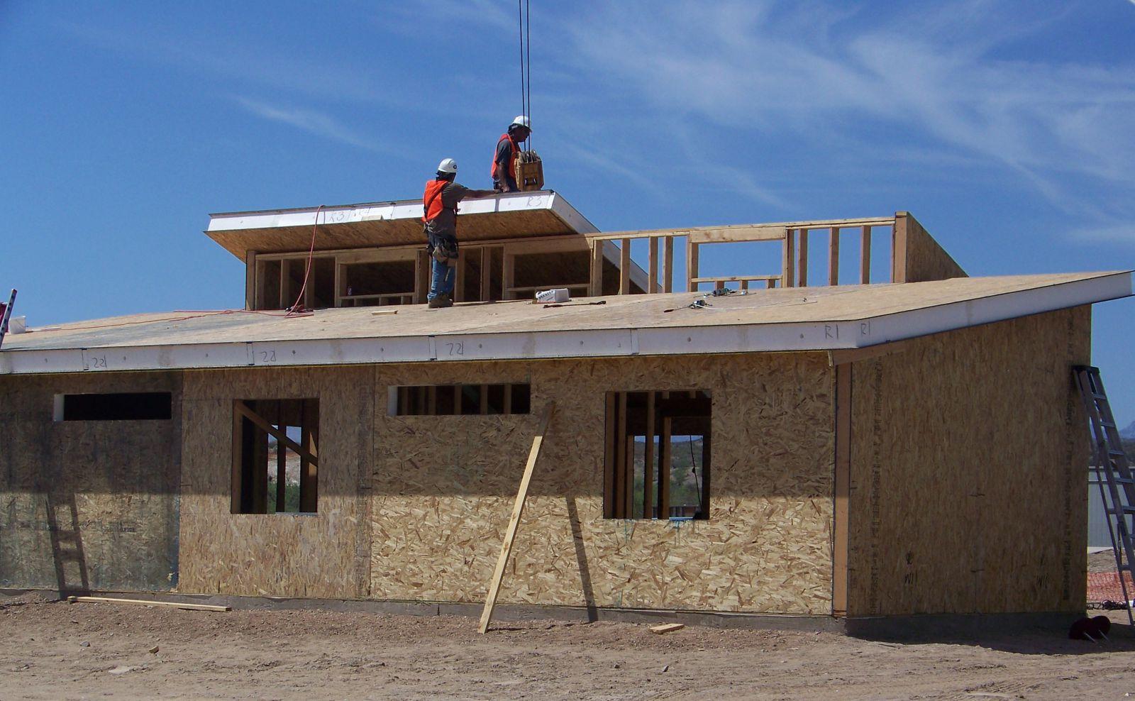 Какие преимущества крыши с сип-панелей :: балкон,веранда :: .