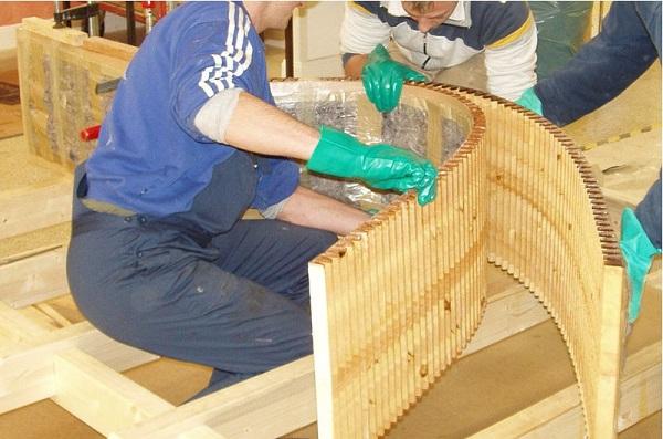 Гнутые конструкции из дерева своими руками 18