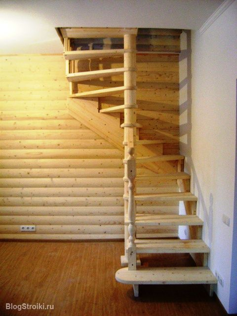 Лестницы на мансард своими руками